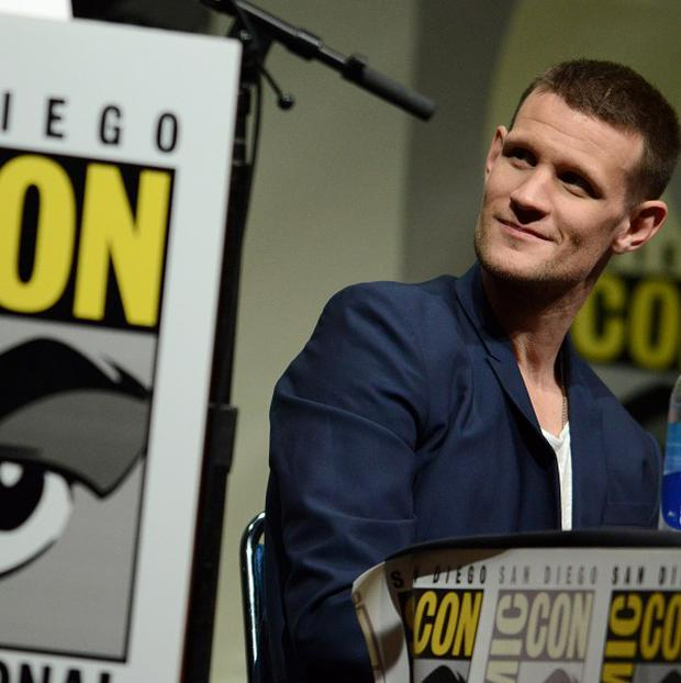 Matt Smith got his Comic-Con fix in disguise