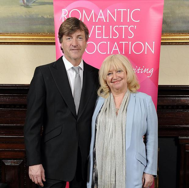Richard Madeley was nervous about wife Judy Finnigan's reaction to his first novel