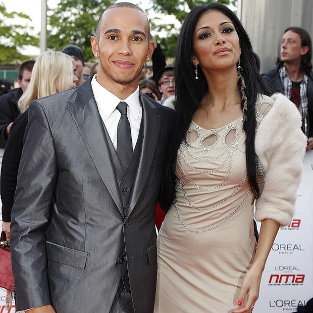 Lewis Hamilton dedicated his Grand Prix win to ex Nicole Scherzinger