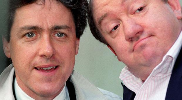 Griff Rhys Jones (left) said he and Mel Smith only really had their comedy in common