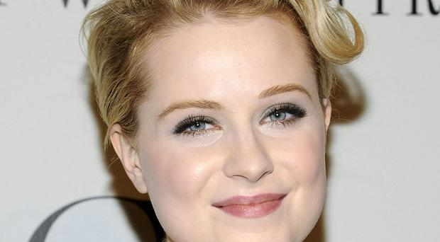 Actress Evan Rachel Wood has become a mother after giving birth to a baby boy