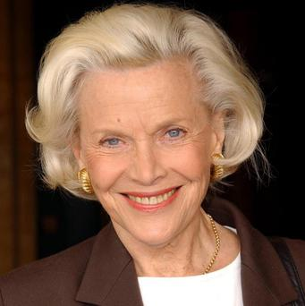 Honor Blackman has a guest role in Casualty