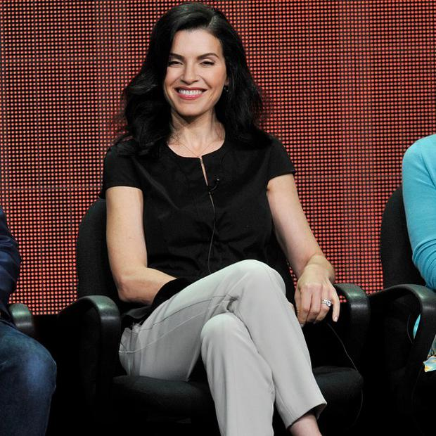 Julianna Margulies said real-life scandals provide ideas to keep The Good Wife fresh