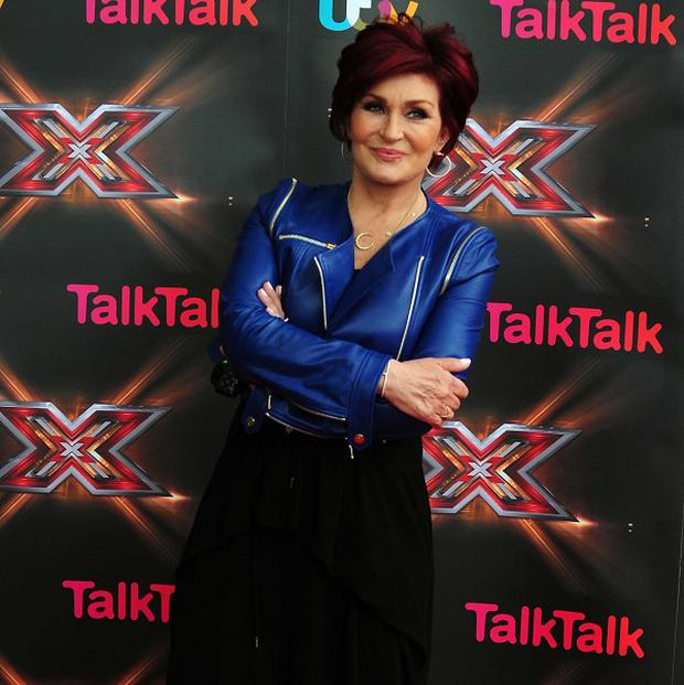 X Factor judge Sharon Osbourne said she wanted to to go out with a bang