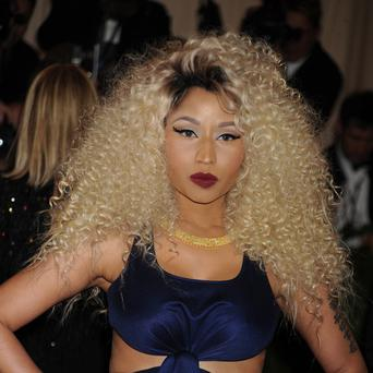 Nicki Minaj says she saw the funny side of the stunt