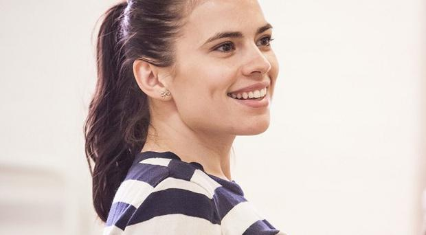 Hayley Atwell stars in the play The Pride