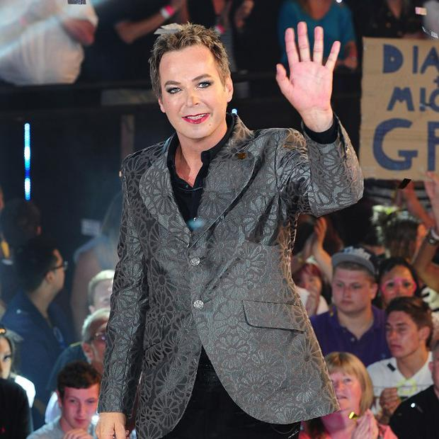 Julian Clary can't resist using cheeky innuendo