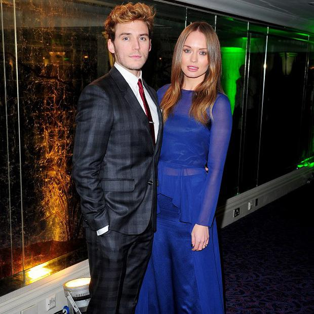 Sam Claflin and Laura Haddock have tied the knot