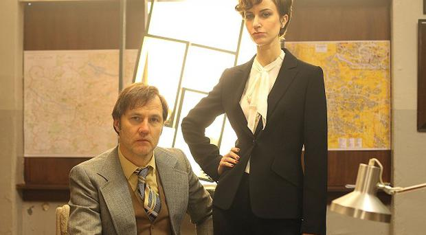 Katherine Kelly and David Morrissey star in The Field Of Blood: The Dead Hour