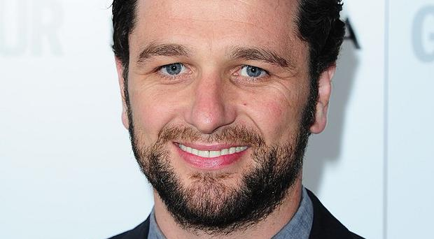Matthew Rhys said he won't be competing with Colin Firth's Mr Darcy
