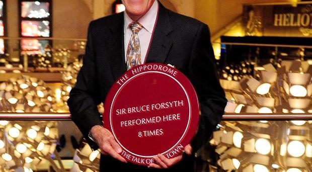 Sir Bruce Forsyth said he's feeling 'jazzed up' for the next series of Strictly