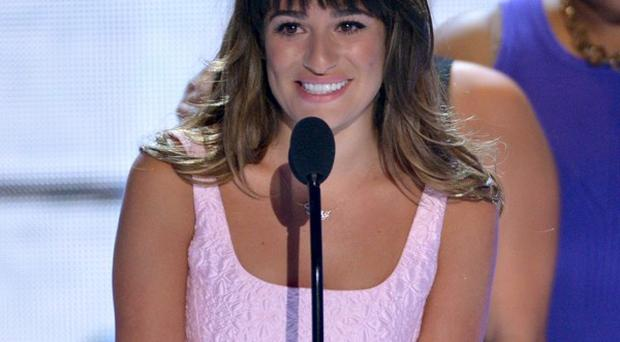 Lea Michele won Choice TV Actress in a comedy for her role on Glee (John Shearer/Invision/AP)