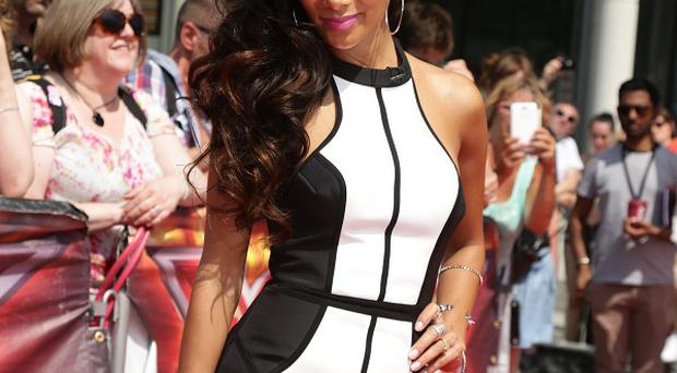 Nicole Scherzinger let her emotions get the better of her during The X Factor boot camp stages