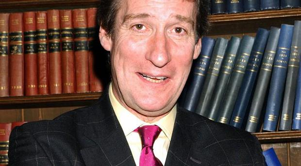 A clean-shaven Jeremy Paxman, as viewers are used to seeing him
