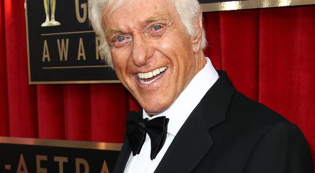 Dick Van Dyke's car caught fire on a freeway in Los Angeles