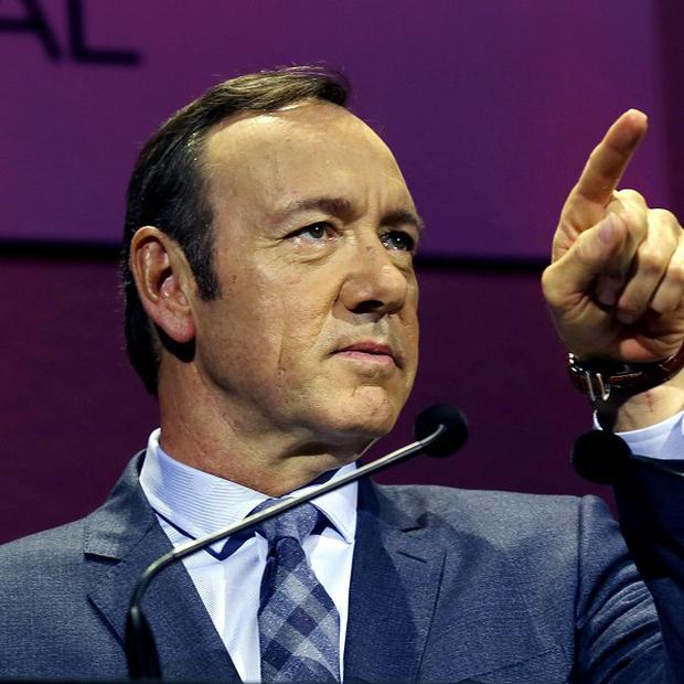 Double-Oscar winner Kevin Spacey delivered the keynote speech to the James MacTaggart Memorial Lecture at the Edinburgh television festival