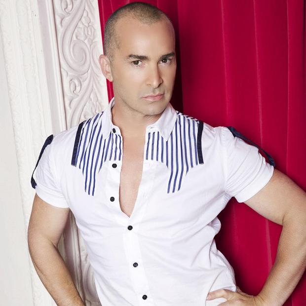 Louie Spence has been spying on Celebrity Big Brother housemates from the secret 'temple'