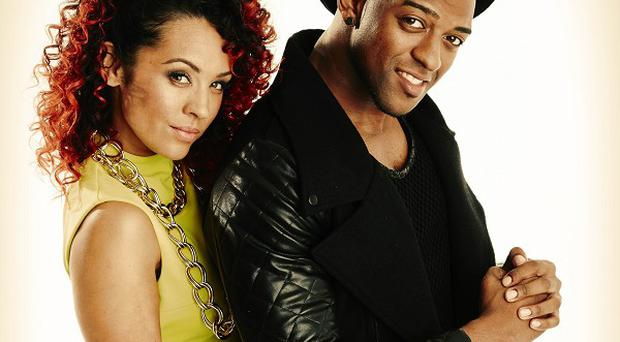 Oritse Williams and AJ Azari will show off their fancy footwork in Stepping Out