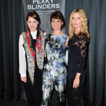 Peaky Blinders co-stars Sophie Rundle, Helen McCrory and Annabelle Wallis says the new TV drama feels more like a film