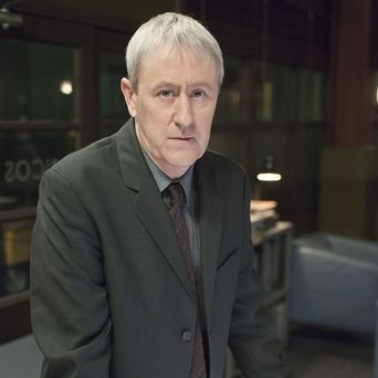 Nicholas Lyndhurst had to fight with Dennis Waterman in New Tricks