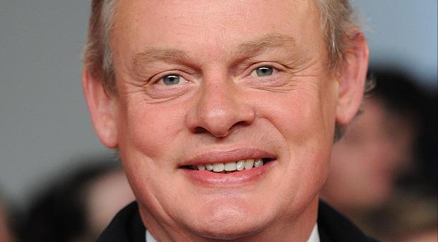 Martin Clunes revealed that his Doc Martin wardrobe had to be remade after he lost a stone after suffering from a virus