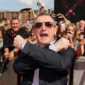 X Factor judge Louis Walsh was axed in 2007 but quickly reinstated