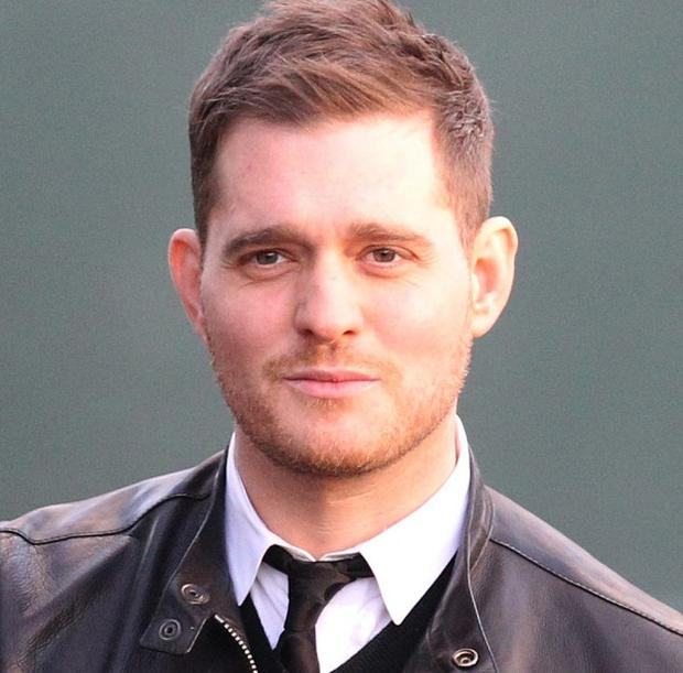 Michael Buble has become a father