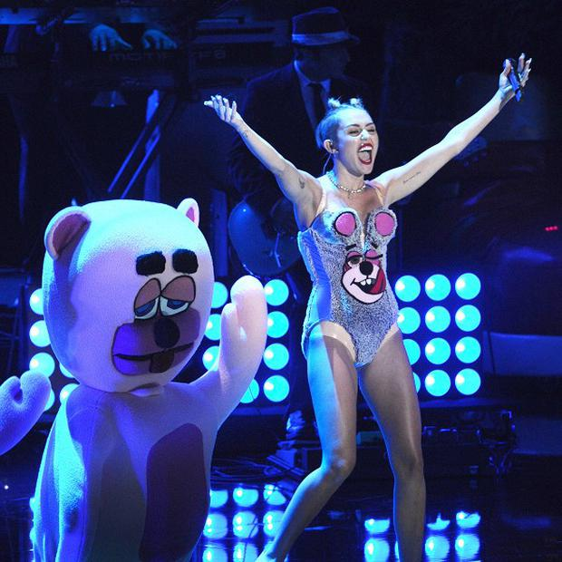 Miley Cyrus sparked controversy at the MTV Video Music Awards