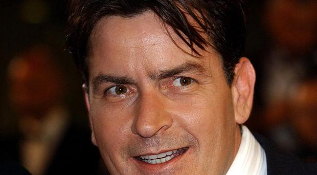 Charlie Sheen has been hunting for a mythological monster