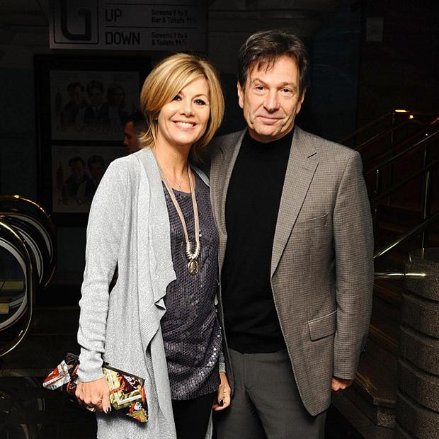 Glynis Barber and Michael Brandon are competing in ITV reality show Stepping Out