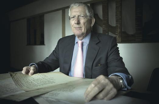 Nick Hewer looks at family records