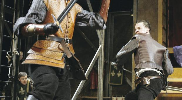 Rousing success: Henry VI: Harry The Sixth at the Grand Opera House