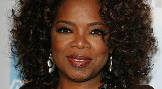 Oprah Winfrey said working on her network has been rewarding
