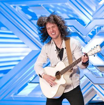 Fil Henley impressed X Factor judge Sharon Osbourne with his hair