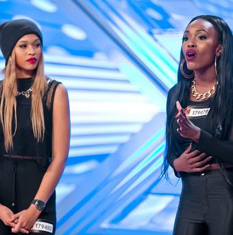 Silver Rock perform at their audition for The X Factor