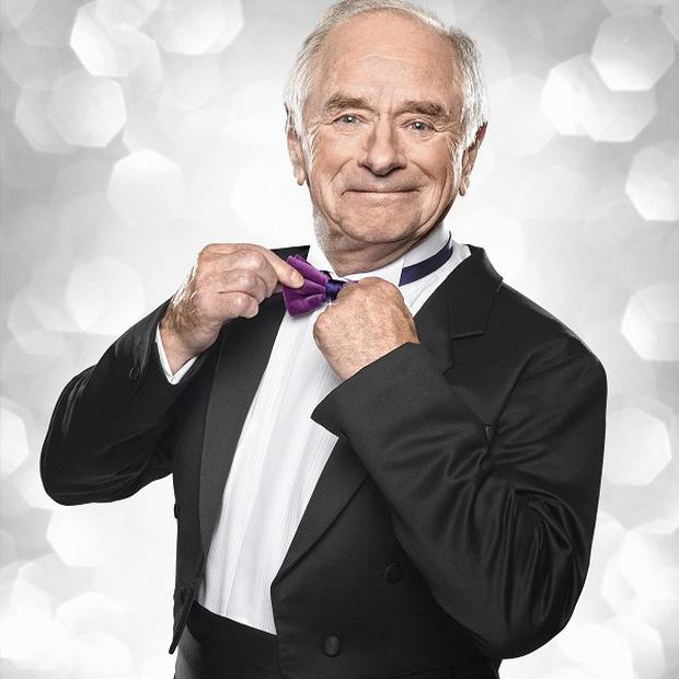 Johnny Ball took to the floor for Strictly Come Dancing last year