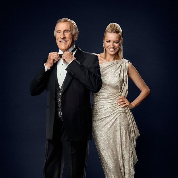 Bruce Forsyth and Tess Daly will be welcoming a new crop of celebs on Strictly
