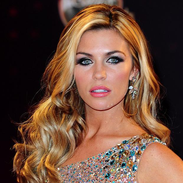 Abbey Clancy is taking part in this year's Strictly Come Dancing