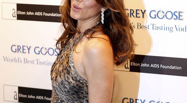 Elizabeth Hurley has a role in The Royals