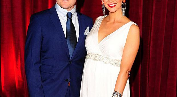 Lucy-Jo Hudson and Alan Halsall have welcomed a baby daughter