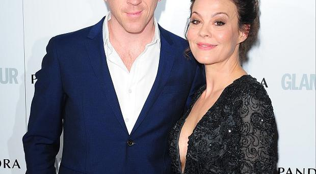 Damian Lewis took a picture of Helen McCrory in the White House toilet