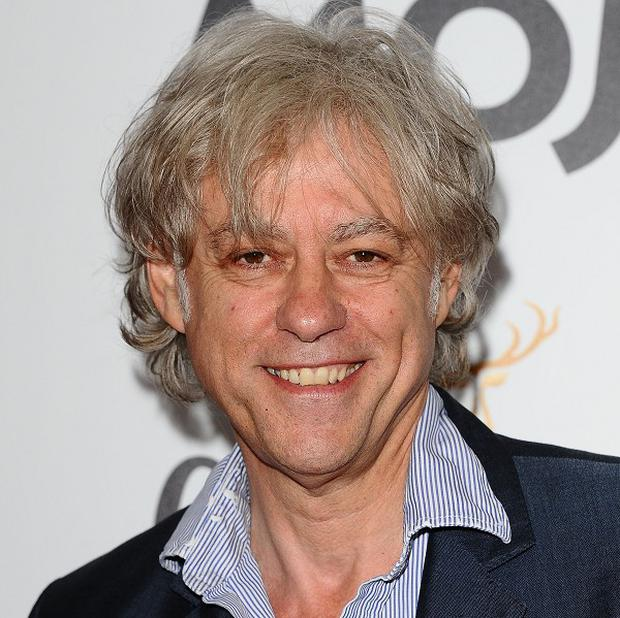 Bob Geldof is going into space on a commercial flight