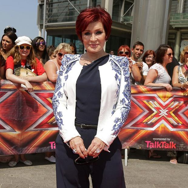 Sharon Osbourne will have help from Robbie Williams, according to reports