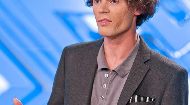 Aaron Dale needed directions after his X Factor audition