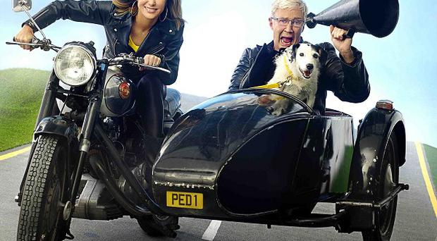 Paul O'Grady and Amanda Holden are supporting rescue dogs with Pedigree