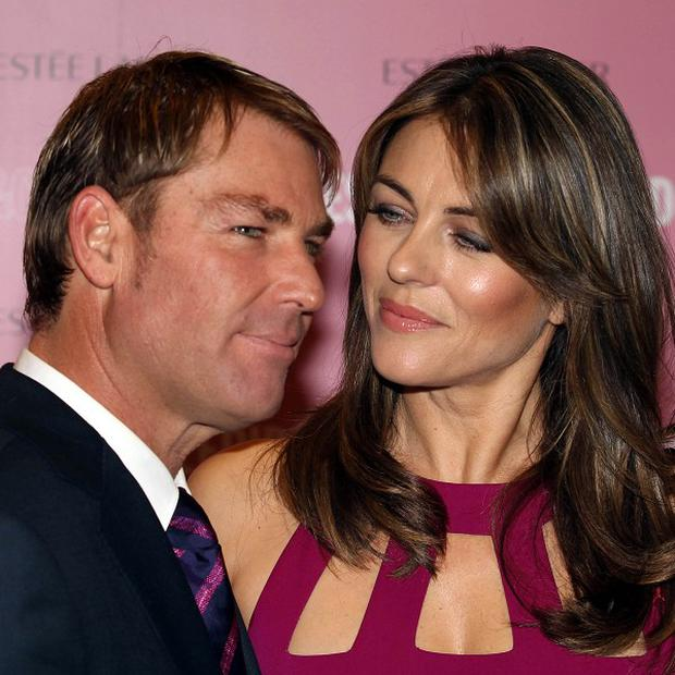 Have Shane Warne and Liz Hurley ended their romance?