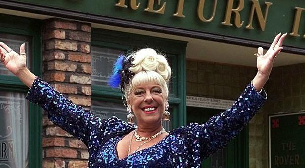Coronation street's Julie Goodyear has said she regrets reprising her role as Bet Lynch