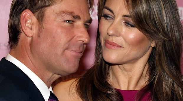 Shane Warne and Liz Hurley are reportedly set for 'crisis talks'