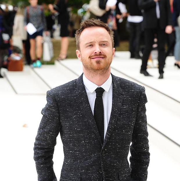 Aaron Paul finds it hard to keep the Breaking Bad plot a secret