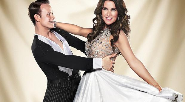 Susanna Reid has revealed she has had to write down all of her dance steps